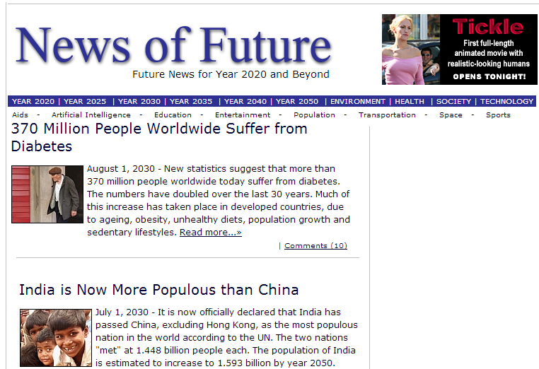 Exclusive Future News For You